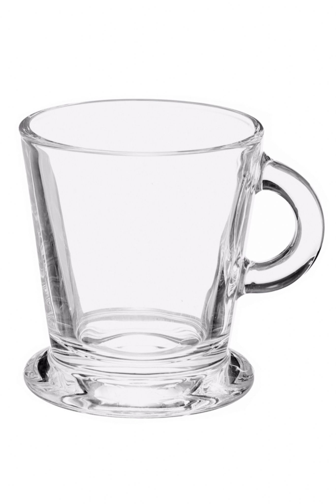 Glass espresso coffee cups uk - Clear Glass Espresso Coffee Cups Capacity 80ml Set Of 6